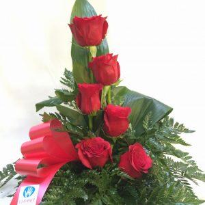 centro 6 rosas