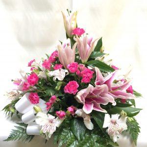 centro tonos rosas